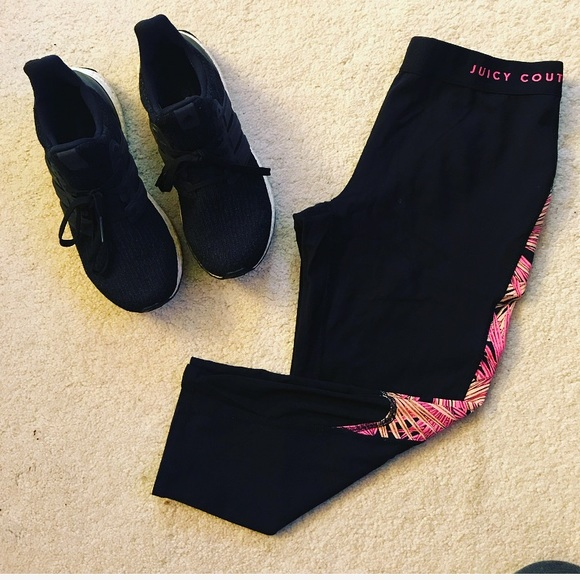 Juicy Couture Pants - Juicy Couture Active Crop Legging